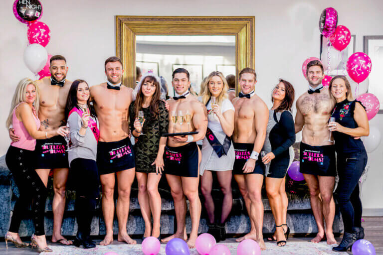 Buff Butlers in Montreal - Bachelorette Butlers - Exotic