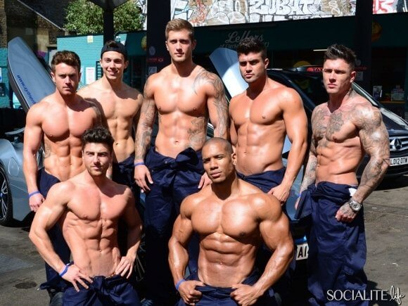 Strippers At A Car Wash