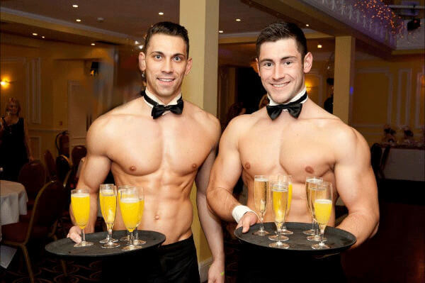 Opinion you Sexy naked male waiters final