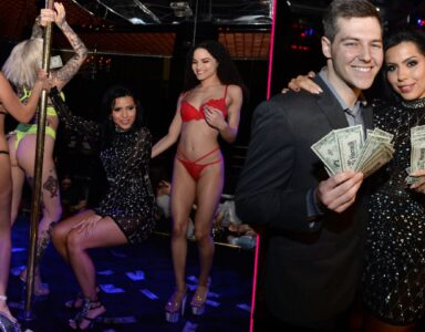 divorce party strippers