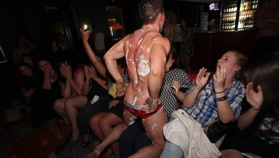 Mont-Tremblant Bachelorette strippers